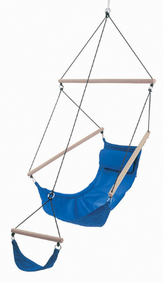 Byer of Maine Easy Swinger Hanging Chair - Blue