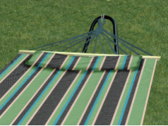 Bliss Hammock with Pillow - Country Club