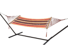 Bliss Tahiti Rope Hammock - Multi Color