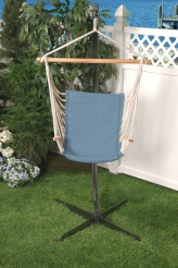 Bliss Metro Hammock Chair - Denim Blue