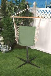 Bliss Metro Hammock Chair - Sage Green