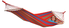 Byer of Maine Aruba Hammock Single - Cayenne Red