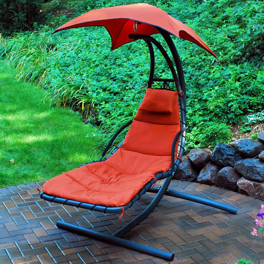 click to enlarge image s  algoma cloud 9 hanging chaise lounger   4 colors  rh   relaxinghammocks