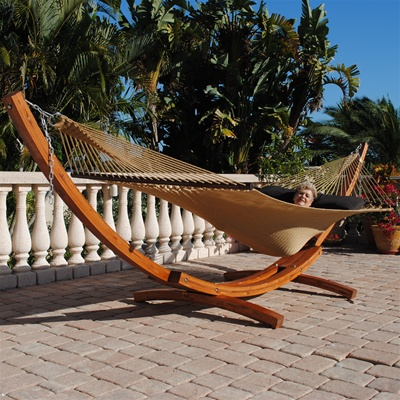 Medium image of caribbean arc hammock stand