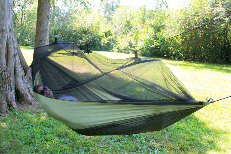 Byer Of Maine Moskito Kakoon Travel Hammock