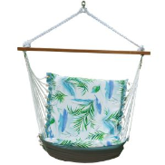 Algoma Reversible Hanging Chair - Delius Pool/Blue Solid