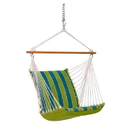 Algoma Reversible Hanging Chair - Wickenburg Teal/Cobble Willow
