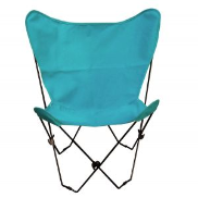 Algoma Butterfly Chair - Black Frame - 11 Colors