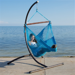 Caribbean Hammock Chair and C-Stand Combo