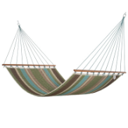 Castaway Hammocks Large Quilted Hammock - Multi Stripe