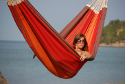 Byer of Maine Paradiso Brazilian Hammock Double - Terra Cotta