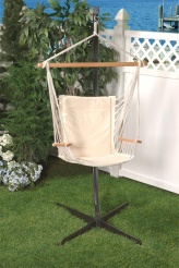 Bliss Metro Hammock Chair - Canvas White