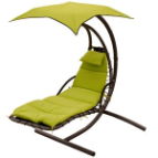 Algoma Cloud 9 Hanging Chaise Lounger - 4 Colors