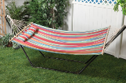 Bliss Hammock with Pillow - Tropical Fruit
