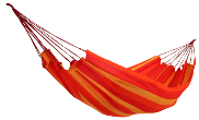 CLEARANCE!  Joia Brazilian Hammock - Orange Stripe